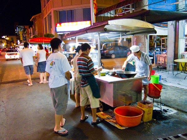 Char Koay Teow Stall Kimberley Street