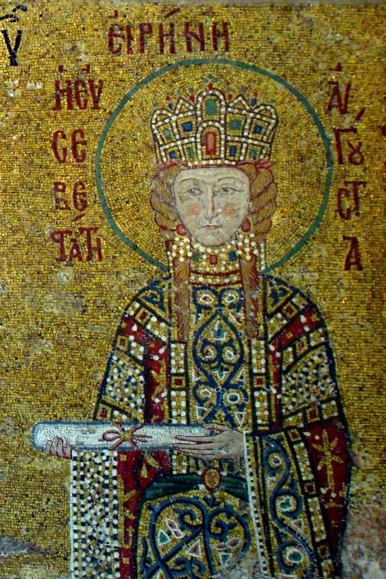Comnenus Mosaics: Irene of Hungary