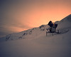 (Gebhart de Koekkoek) Tags: winter mountain snow film nature night austria tirol machine zillertal mamiya7