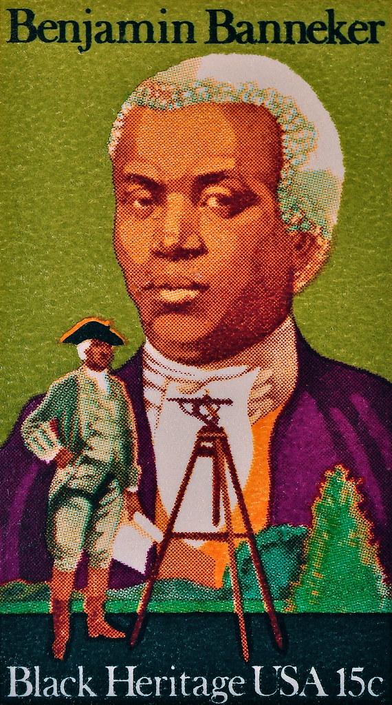 Benjamin Banneker Black Heritage Stamp