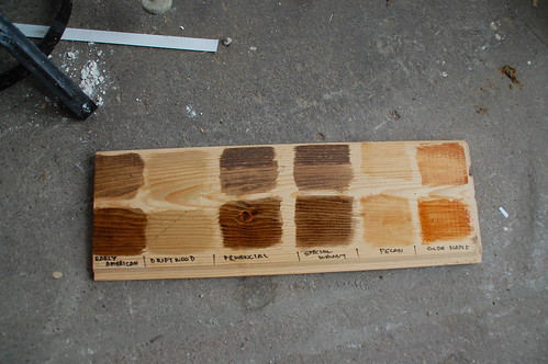 Picking An Interior Stain Color Diydiva