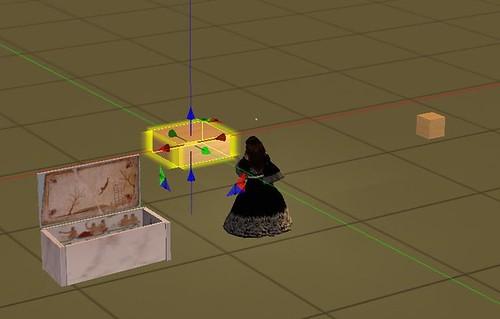Mondo virtuale: Second Life Sim: Indire Stato della sim: attiva  Permesso proprietari oggetti: me medesima.