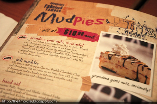 NYDC - Mudpies Menu