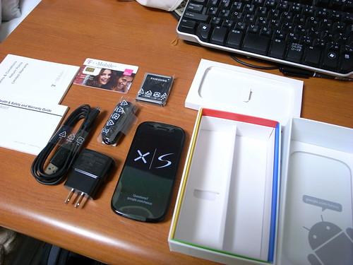 Nexus S unboxing 3