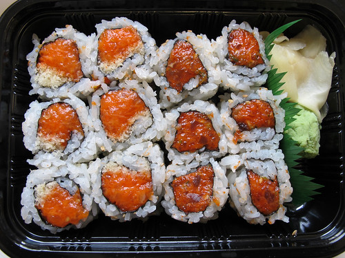 Spicy Salmon & Spicy Tuna Rolls