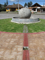 Middle of the World Monument (#1), Trip to Otavalo