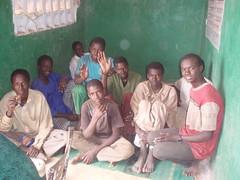 Enfants du centre ASLAD