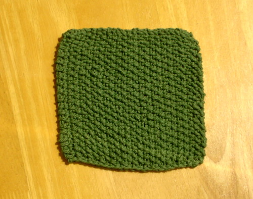 Sage Green Knit Cotton Cloth