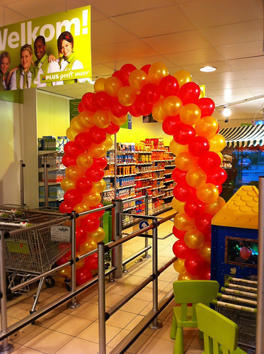 Ballonboog 6m Plus Supermarkt Rozenburg