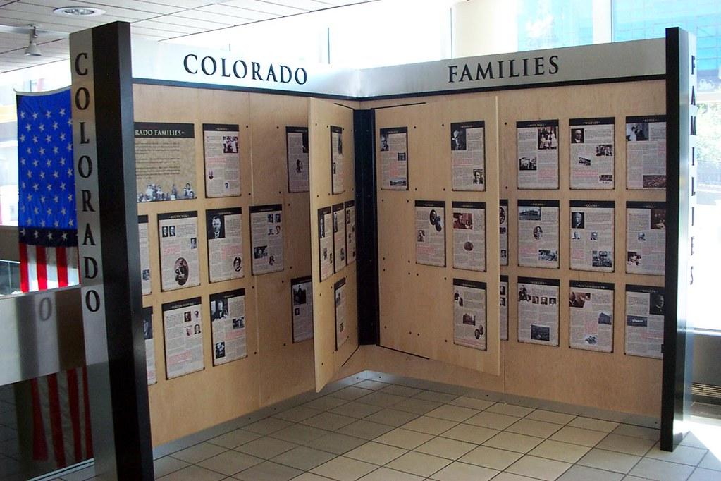 Colorado Families exhibit