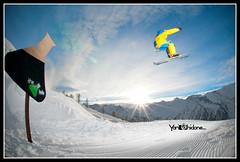 Brondi, Speed Check! ( YariGhidone ) Tags: lighting light mountain snow sport nikon ranger photographer flash picture neve montagna luce quadra elinchrom yari artificiale strobist prali d700 nikond700 ghidone yarighidone