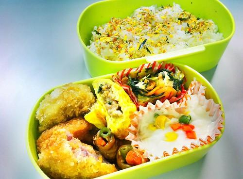 今日のお弁当 No.82 – 緑黄野菜