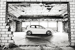Abandoned Edit (Ronaldo.S) Tags: light building rabbit abandoned vw work high nikon key natural low tokina 28 slammed d90 equips 1116mm