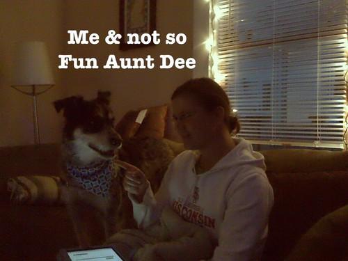 Me & not so fun aunt dee