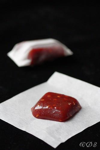 Caramels à la framboise (Pierre Hermé)
