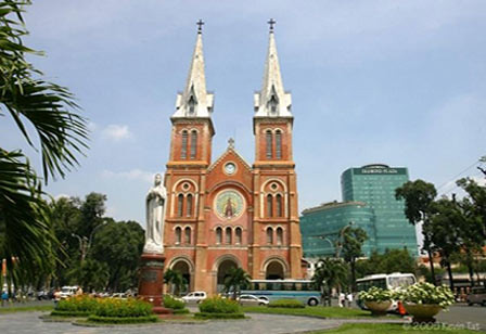 Notre Dame Cathedral, Ho Chi Minh, Vietnam