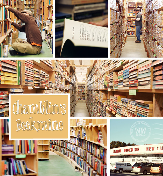 Chamblin's Bookmine Collage