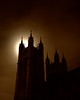 Our Lady (#2) (ICT_photo) Tags: moon ontario silhouette night cathedral guelph steeple spire churchofourlady ictphoto ianthomasguelphontario