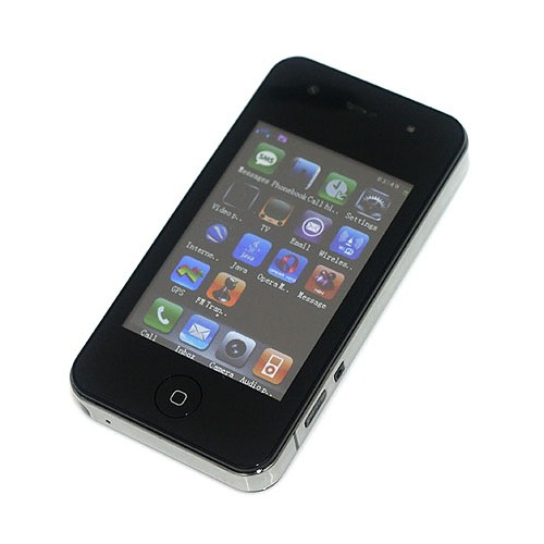 Flying Sciphone 4G/F98 3.0 Inch Touch TV Cell Phone WIFI GPS Java Black