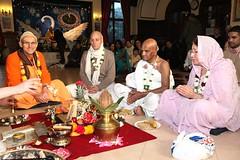 His Holiness Kadamba Kanana Swami - Initiations - Bhaktivedanta Manor - 09/01/2011 - IMG_3153 (DavidC Photography 2) Tags: uk winter england london fruit temple fire for hare room sunday january 9 international heath his hh priest grains krishna krsna manor 9th society consciousness puja swami hertfordshire watford mandir sacrifice kks initiations pandit holiness herts aldenham homa maharaj agni iskcon 2011 bhaktivedanta kadamba yajna letchmore kanana agnihotra hotra internationalsocietyforkrishnaconsciousness templeroom