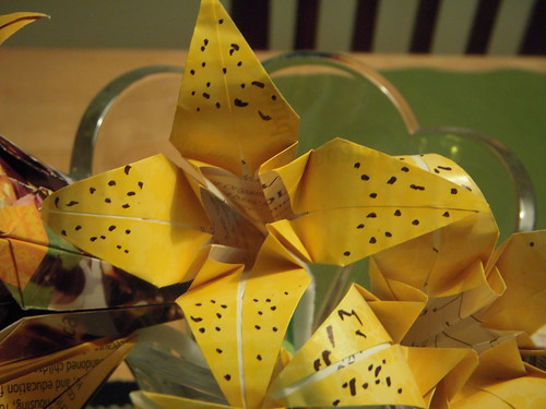 Origami #5: Seven Lilies