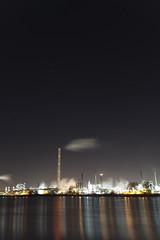 Industry by night (Marcus van Leeuwen) Tags: industry night rotterdam botlek