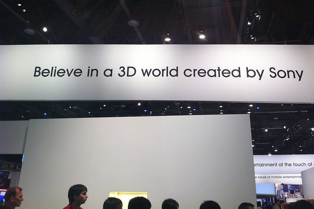 Sign at CES
