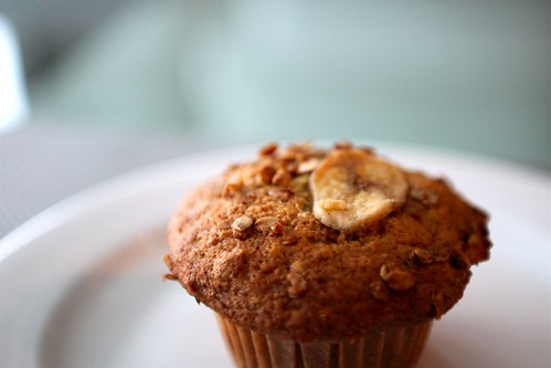 banana muffins on steroids