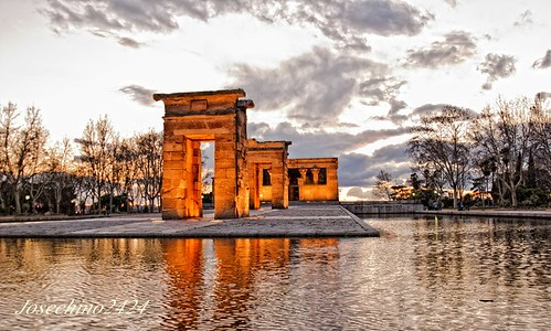 Templo Debod ..... Madrid