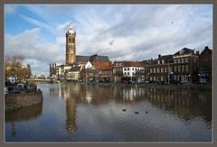 Hoogwater in Roermond / High water in my hometown (Bert Kaufmann) Tags: nederland highwater roermond hoogwater