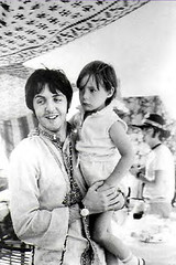 Paul McCartney and Julian Lennon (LittleJulian'sGuardianAngel) Tags: john paul george evans julian harrison jane circus stones top may linda mau
