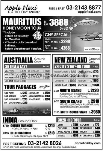 Apple Holiday Travel Agency Singapore