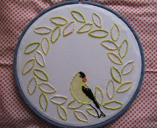 Goldfinch Wreath