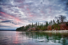 HDR Landscapes - East Penobscot Bay, Maine (w4nd3rl0st (InspiredinDesMoines)) Tags: ocean morning pink trees winter sea wallpaper seascape jason cold fall weather clouds sunrise canon computer landscape fun photography coast yahoo lowlight woods rocks day screensaver cloudy outdoor cove maine scenic inspired tourist atlantic multipleexposure craggy shore 7d plugin nik dslr atlanticocean hdr 2010 amazingcolors duckhunting stockphotography efx rockyshore 1585 lightroom3 bestplaces hdredit colorefx perfectsunrise inspiredphotography regionwide eastpenobscotbay projectweather mrachina nikhdrefx wwwinspiredphotographydsmcom famousmain dontmissviews cantmissvacation w4nd3rl0st