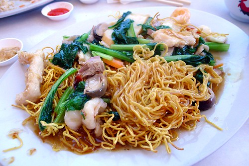 Fried noodles@Lil HK