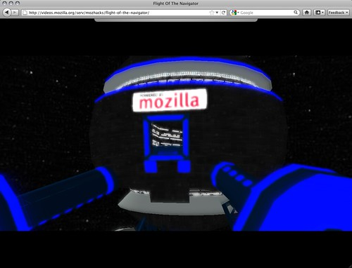 Flight of the Navigator - Mozilla space station (closeup)