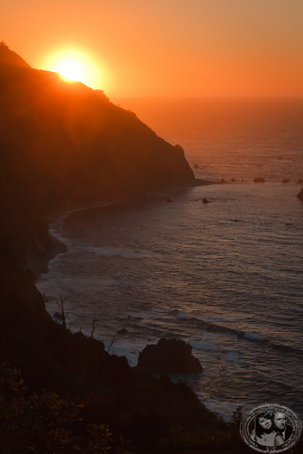 Sunset Along Coast