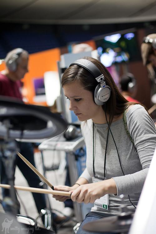 Emily Drumming