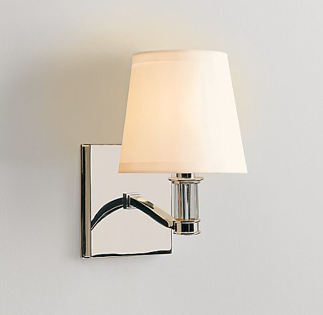 lighting, restoration hardware, reese sconce, $185
