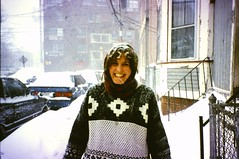 Clary Street 2000 (Emily Taliaferro Prince) Tags: winter cambridge snow massachusetts