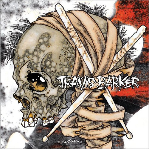 PUSHEAD Cover Art for Travis Barker