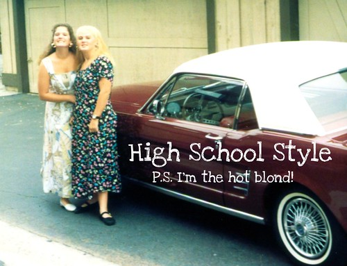 Julie's High School Style