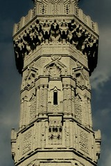 for a thousand years of stone architecture...and for a thousand more (ahmed yahia enab) Tags: building art history monument stone architecture worship minaret islam details faith religion egypt engineering cairo ornament sultan  muqarnas    aldin       sayf    inal       alashraf     alzahry