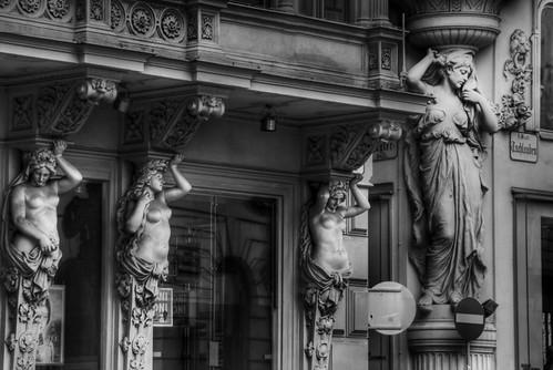 Statues. Vienna. Estatuas. Viena