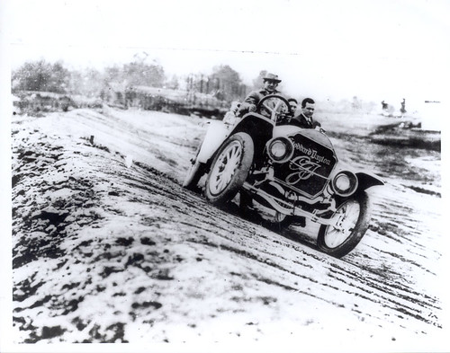 The Stoddard Dayton Pace Car from the first Indianapolis 500 in 1911