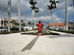 Down suit fountain 2 (rockpup_fl) Tags: west beach down palm suit himalayan downsuit