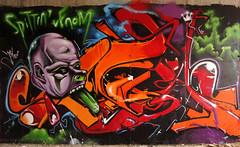 INCA______SpIttiN_VeNoM (SRCARAMELOS) Tags: urban orange inca graffiti spain mural style spray urbanart alicante satan graff eds th veneno 2010 envoy venom 2011 spittin pistolo