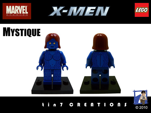 Custom minifig Interview with Tin7