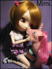 My Little Pony| Pullip MM (.: Marinette in Wonderland :.) Tags: doll purple pony wig pullip mm luts hasbro converses eyechips zuora obitsusbhm junplannig