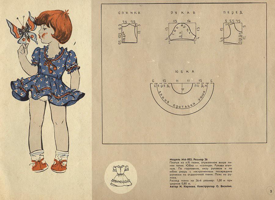 Детское мода и выкройки